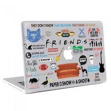 Friends Tv Series Macbook Skin Decal