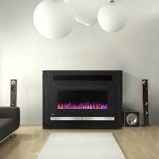 the alanis electric fireplace mantel