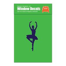 Ballet Dancer Passe Car Window Decal Walmart Com Walmart Com