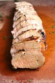 apple juice marinated pork tenderloin