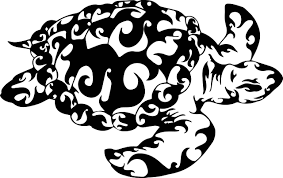 Sea Turtle Wall Decal Maori Style Design Maori Style Decals Stickers Sea Decals Collection