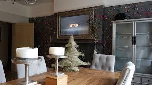 mirror tv kitchen install pure home
