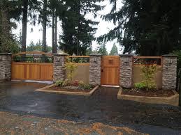 Bricks And Stones Fences And Gates Ideas Homescorner Com