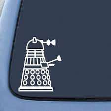 Dalek Side Sticker Decal Notebook Car Laptop