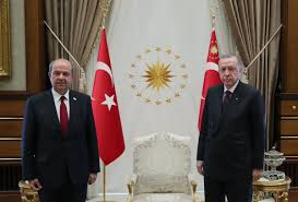 Turkish President Erdogan has welcomed Prime Minister Ersin Tatar of the  Turkish Republic of Northern Cyprus at the Presidential Complex Ankara -  Interactive map of news and conflicts in Southeastern Europe at