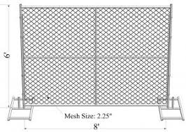 Astm A392 06 Temporary Chain Link Fence Panels 6ft X 10ft Construction Fence Tubing 1 40mm Cross Brace Mesh 1 40mm For Sale Temporary Chain Link Fence Home Depot Manufacturer From China 106877123