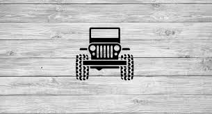Jeep Decal Jeep Sticker Jeep Lover Car Decal Bumper Etsy