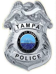 Tampa Police Department Badge Vinyl Decal Car Window Vinyl Etsy