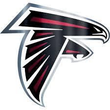 Metallic Atlanta Falcons Sticker Atlanta Falcons Logo Falcon Logo Atlanta Falcons