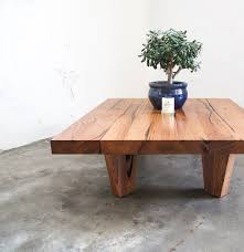 low rider coffee table recycled