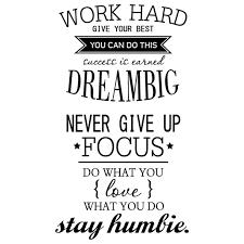 Draggme Partty Work Hard Dream Big Wall Sticker Walmart Com Walmart Com
