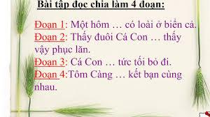 Lớp 2 - Tuần 26 - Tập đọc: Tôm Càng và Cá Con - YouTube