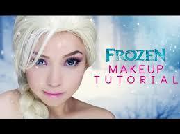 frozen inspired elsa makeup tutorial