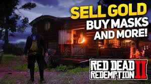 red dead redemption 2 how to sell gold