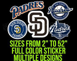 San Diego Decal Etsy