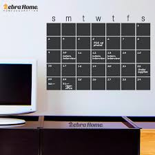Diy Chalkboard Calendar Decal Whiteboard Vinyl Wall Stickers Modern Blackboard Month Planner Murals Wallpaper Home Decor 40x56cm Home Decor Chalkboard Calendarvinyl Wall Stickers Aliexpress