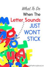 letter sounds just won t stick