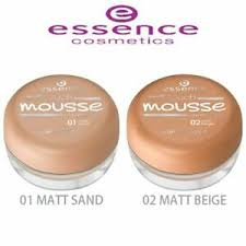 essence soft touch mousse makeup matt