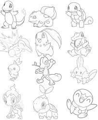 Pokemon Johto Coloring Pages