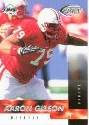 1999 Collector's Edge Fury #168 Aaron Gibson RC at Amazon's Sports  Collectibles Store