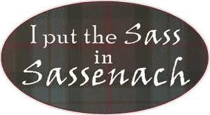 Set Of Two Outlander Sassenach Fraser Car Truck Window Decals Stickers Rainbowlands Lk