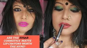 sugar matte as crayon lipsticks