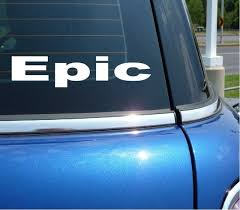 Epic Game Rpg Cool Decal Sticker Art Car Wall