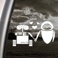 Robot Check Wall E Eve Disney Wall Disney Decals