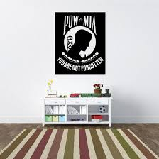 Pow Mia You Are Not Forgotten Decal
