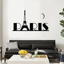 Paris Wall Art Decal Sticker Vinyl Wall Decal Thriftysigns
