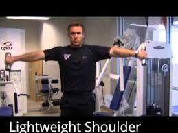 light weight shoulder workout