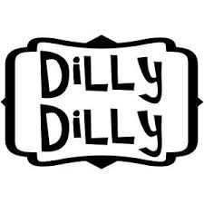 Dilly Dilly Peasant Font Bud Light Inspired Vinyl Decal Sticker