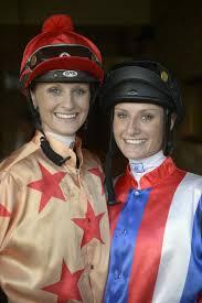 Jockeys Cassie and Priscilla Schmidt at the Grafton Racecourse. Photo ... |  Buy Photos Online | Noosa News