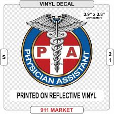 Pa Car Decal Physician Assistant Outdoor Truck Sticker Caduceus Nurse Doctor For Sale Online Ebay