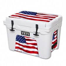 Mightyskins Protective Vinyl Skin Decal For Yeti Tundra 35 Qt Cooler Wrap Cover Sticker Skins American Flag Yeti Tundra Yeti Cooler Cooler