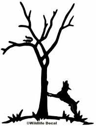 Feist Treeing Squirrel Decal Md Vinyl Window Stickers Ebay