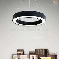 Đèn thả văn phòng vòng tròn LED 3D DVP001