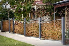 Popular Laser Cut Art Metal Fence For Garden Decoration Buy Laser Cut Metal Fence Outdoor Metal Fence Art Metal Fence Product On Alibaba Com