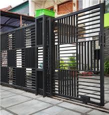 Mengerjakan Pagar Besi Tralis Balkon Kanopi Gerbang Dll Pasti Memuaskan Hubungi Irfan Pin 2bb1a3d7 Entrance Gates Design House Gate Design Gate Design