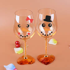 Home Furniture Diy 30 Snowman Face Hat Tie Vinyl Decals Stickers Christmas Decorations Wine Glass Directway Com Cy