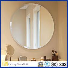 round shape wall mounted vanity makeup
