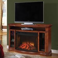 pecan media electric fireplace
