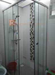 tempered glass shower screen promotion