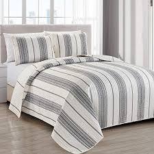 modern bedspread full queen size quilt