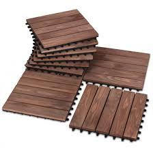wood deck tiles patio pavers
