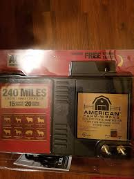 240 Mile American Farm Works Electric Fence Charger Eac200m Amazon Ca Home Kitchen