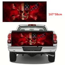 Wholesale American Flag Skull Vinyl Graphics Decal Sticker Truck Decals From China