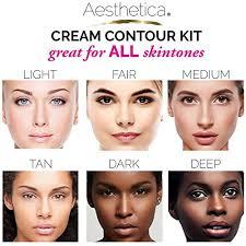 aesthetica cosmetics cream contour and
