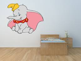 Dumbo Disney Wall Art Stickers Murals Decals P13 Ladybug Print
