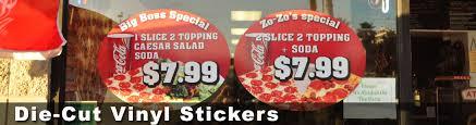 Die Cut Stickers San Diego Green House Sign Design